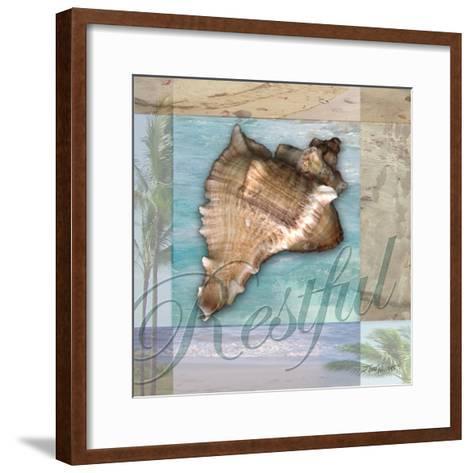 Restful Shell-Todd Williams-Framed Art Print