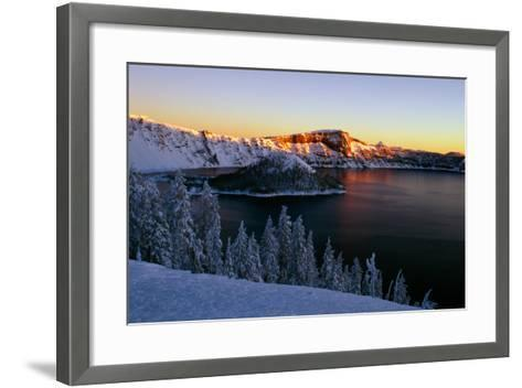 Crater Lake II-Ike Leahy-Framed Art Print