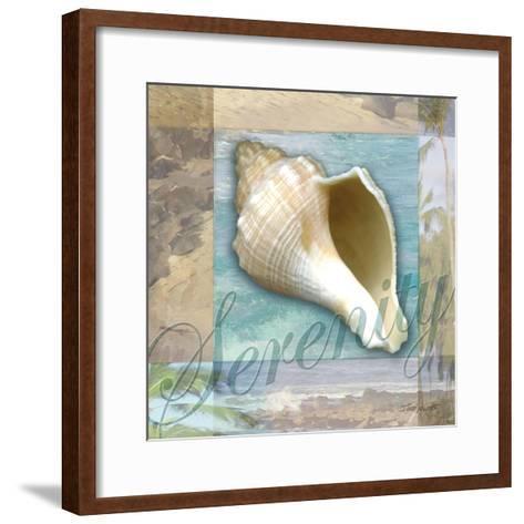 Serenity Shell-Todd Williams-Framed Art Print