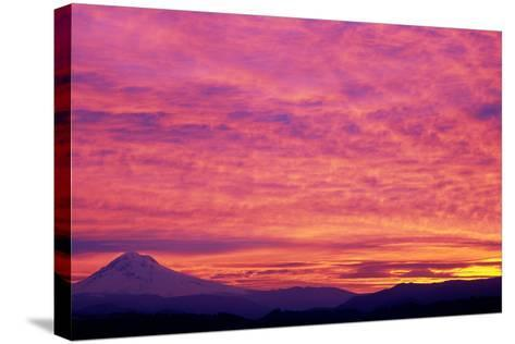 Mt. Hood XXV-Ike Leahy-Stretched Canvas Print