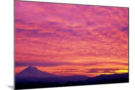 Mt. Hood XXV-Ike Leahy-Mounted Photographic Print