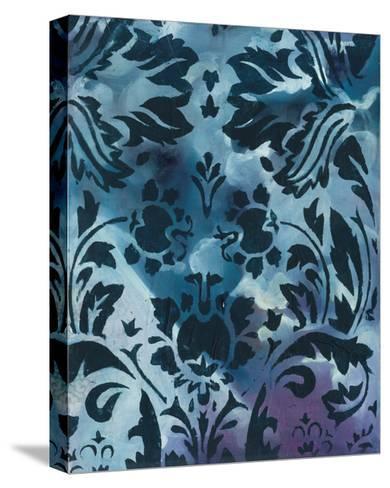 Indigo Patterns II-Arielle Adkin-Stretched Canvas Print