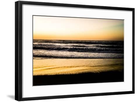Ocean Sunrise V-Beth Wold-Framed Art Print