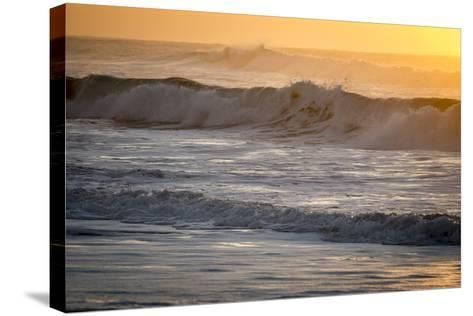 Ocean Sunrise I-Beth Wold-Stretched Canvas Print