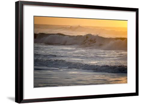 Ocean Sunrise I-Beth Wold-Framed Art Print