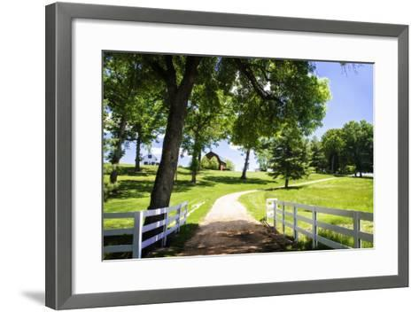 Farms and Fields I-Alan Hausenflock-Framed Art Print