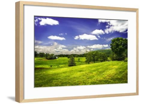 Virginia Foothills II-Alan Hausenflock-Framed Art Print