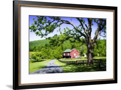 Farms and Fields II-Alan Hausenflock-Framed Art Print