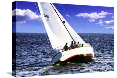 Sailing at Day's End-Alan Hausenflock-Stretched Canvas Print