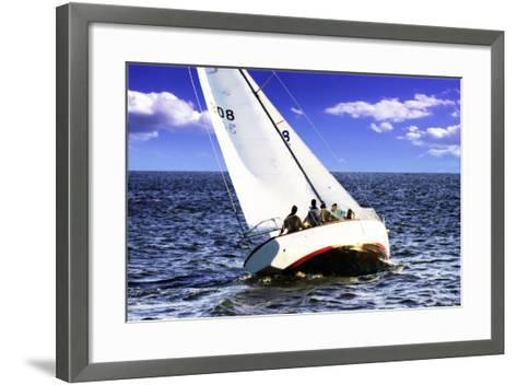 Sailing at Day's End-Alan Hausenflock-Framed Art Print