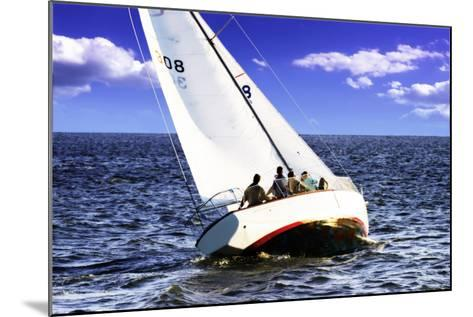Sailing at Day's End-Alan Hausenflock-Mounted Photographic Print