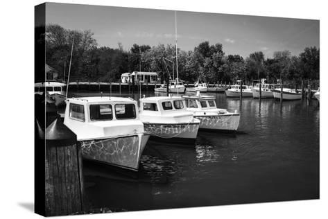 Deadrise Boats-Alan Hausenflock-Stretched Canvas Print