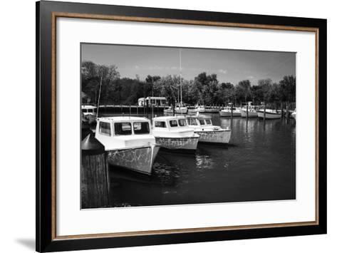 Deadrise Boats-Alan Hausenflock-Framed Art Print
