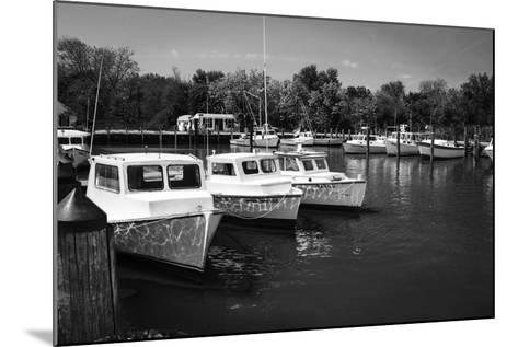 Deadrise Boats-Alan Hausenflock-Mounted Photographic Print