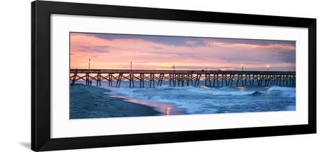 Dawn over the Pier-Alan Hausenflock-Framed Art Print