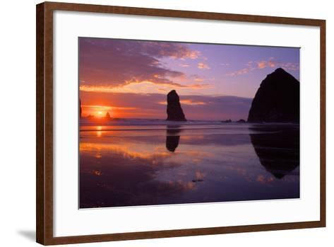 Cannon Beach II-Ike Leahy-Framed Art Print