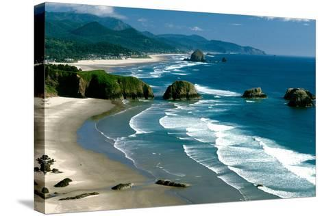 Ecola State Park III-Ike Leahy-Stretched Canvas Print