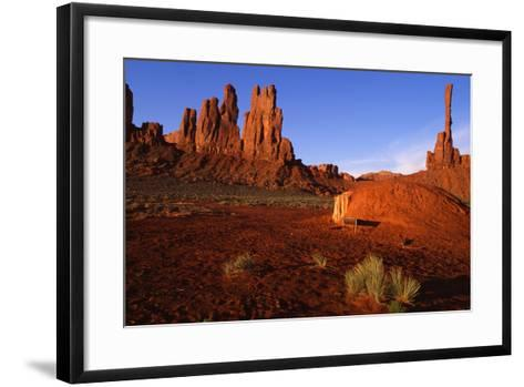 Monument Valley I-Ike Leahy-Framed Art Print