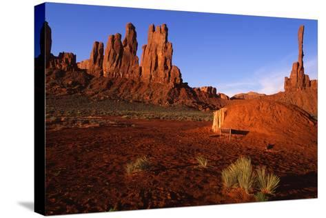 Monument Valley I-Ike Leahy-Stretched Canvas Print