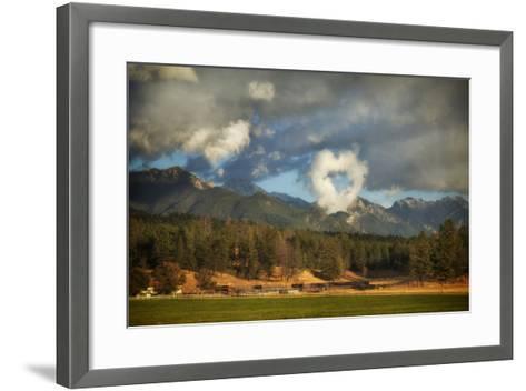 I Heart the Mountains-Roberta Murray-Framed Art Print