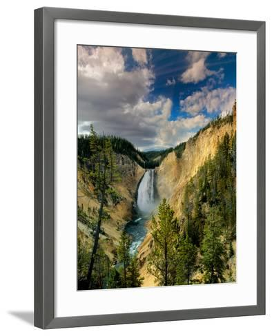 Yellowstone Falls-Ike Leahy-Framed Art Print