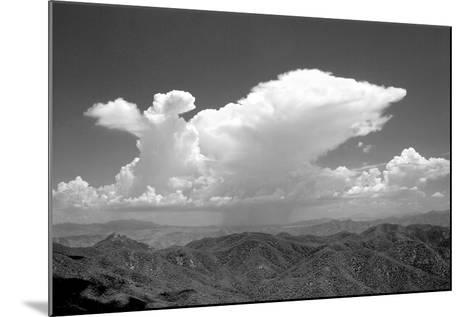 Distant Rain BW-Douglas Taylor-Mounted Photographic Print