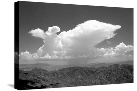 Distant Rain BW-Douglas Taylor-Stretched Canvas Print
