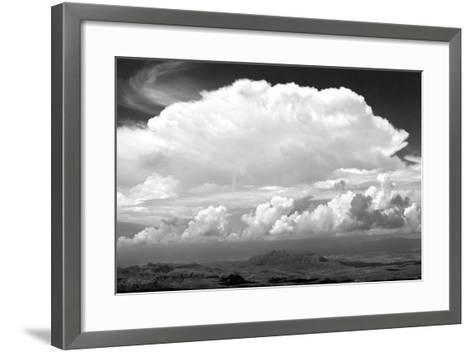 Sunday Morning Storm BW-Douglas Taylor-Framed Art Print