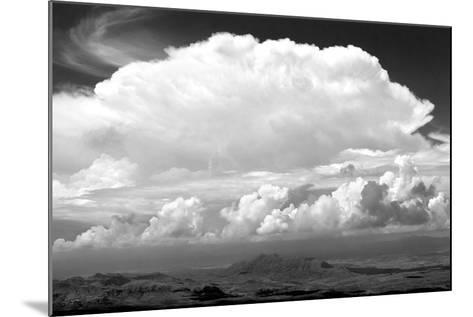 Sunday Morning Storm BW-Douglas Taylor-Mounted Photographic Print