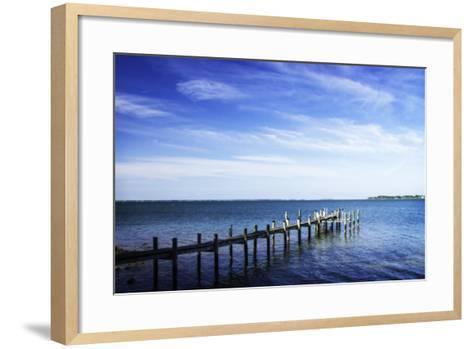 On the Chesapeake I-Alan Hausenflock-Framed Art Print