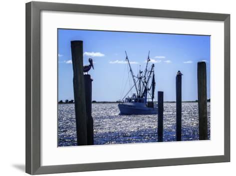 Bringing the Catch in II-Alan Hausenflock-Framed Art Print