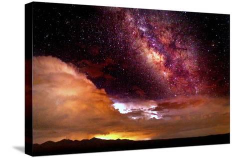 Celestial Storm-Douglas Taylor-Stretched Canvas Print