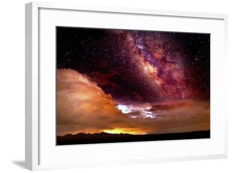 Celestial Storm-Douglas Taylor-Framed Art Print