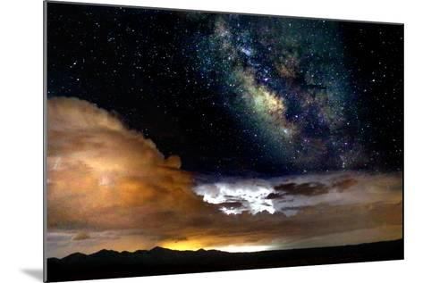 Dark Skies and Distant Storm-Douglas Taylor-Mounted Photographic Print