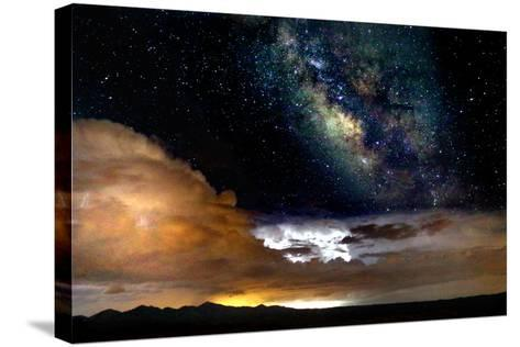 Dark Skies and Distant Storm-Douglas Taylor-Stretched Canvas Print