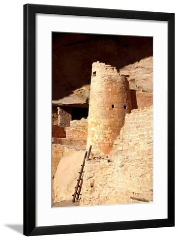 Cliff Palace Detail II-Douglas Taylor-Framed Art Print