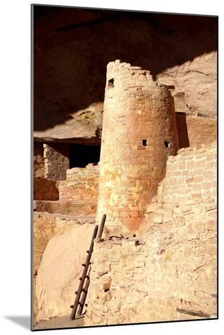 Cliff Palace Detail II-Douglas Taylor-Mounted Photographic Print