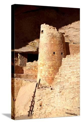 Cliff Palace Detail II-Douglas Taylor-Stretched Canvas Print