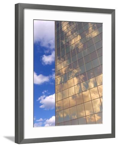 In the Clouds-Monika Burkhart-Framed Art Print
