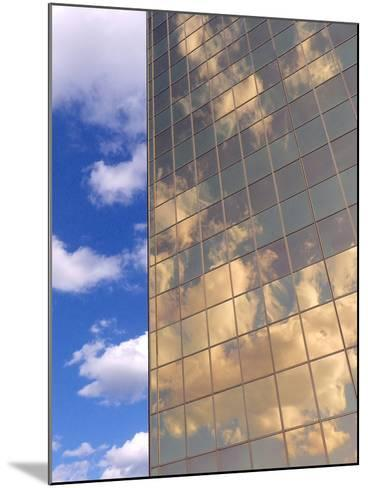 In the Clouds-Monika Burkhart-Mounted Photographic Print