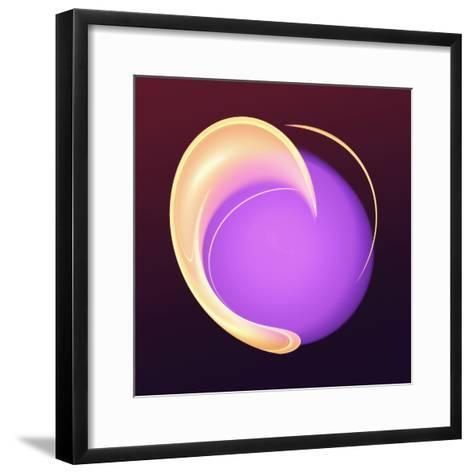 Hooded Circle II-Alan Hausenflock-Framed Art Print