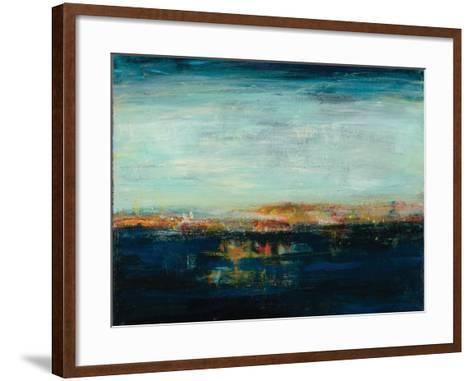 Night Reflection-Nikki Dilbeck-Framed Art Print