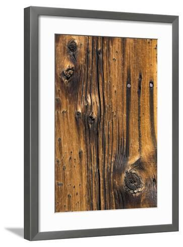 Wood Detail I-Kathy Mahan-Framed Art Print