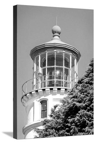 Umpqua River Lighthouse BW-Douglas Taylor-Stretched Canvas Print