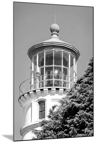 Umpqua River Lighthouse BW-Douglas Taylor-Mounted Photographic Print