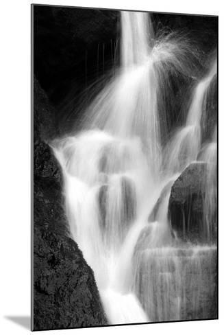 Falling Water IV BW-Douglas Taylor-Mounted Photographic Print