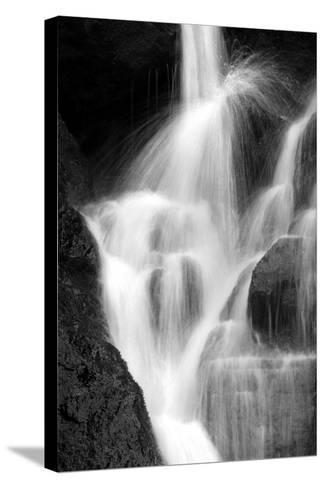 Falling Water IV BW-Douglas Taylor-Stretched Canvas Print