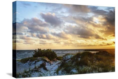 North Bay Sunrise I-Alan Hausenflock-Stretched Canvas Print