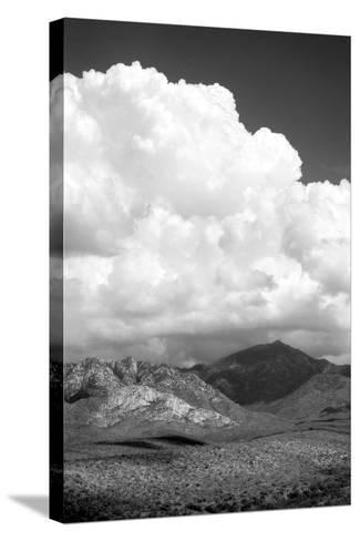 The Coming Storm BW-Douglas Taylor-Stretched Canvas Print