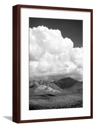 The Coming Storm BW-Douglas Taylor-Framed Art Print